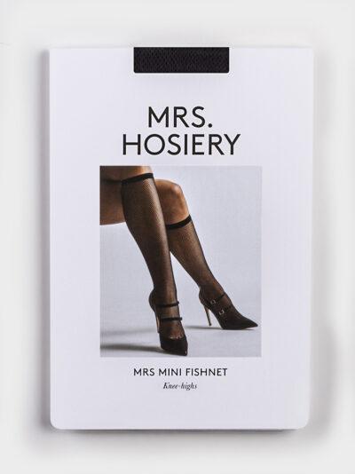 Mrs Mini Fishnet knee-high