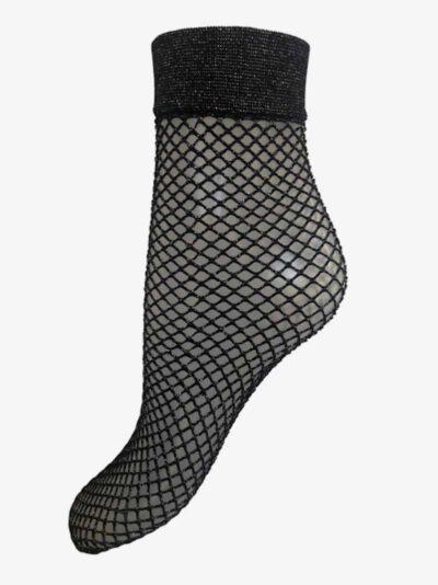 Mrs Shiny Fishnet Sock